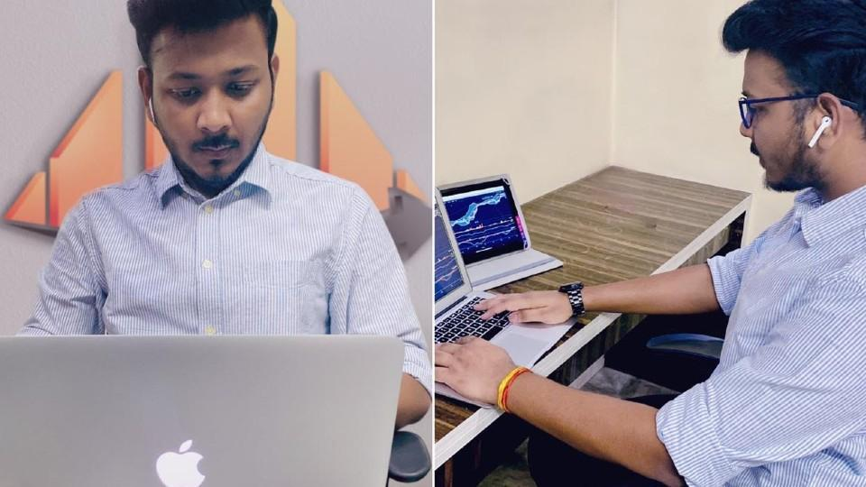 Niraj Mittal, who, at the age of 21, is already an investor, entrepreneur and digital marketer, realized the need for proper mentoring of stock traders.