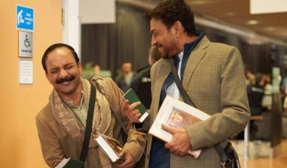 Deepak Dobriyal worked with Irrfan Khan in his last film, Angrezi Medium.
