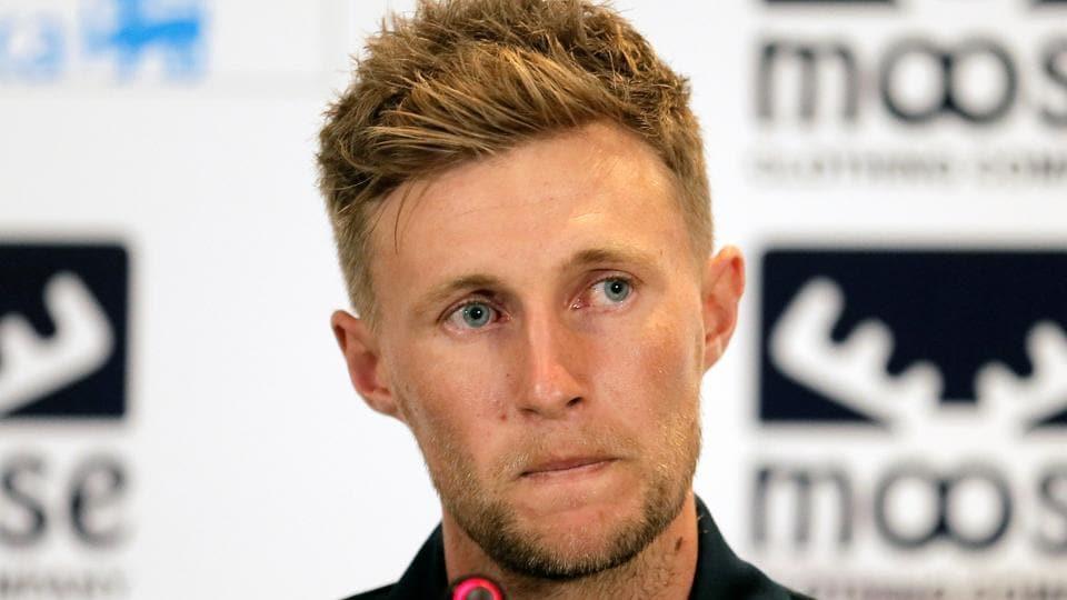 England cricket captain Joe Root