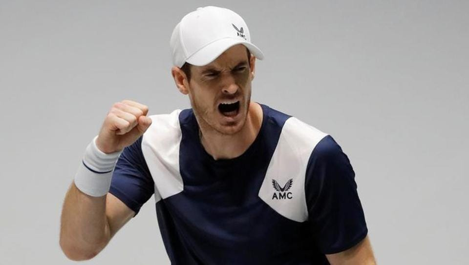 File image of Andy Murray
