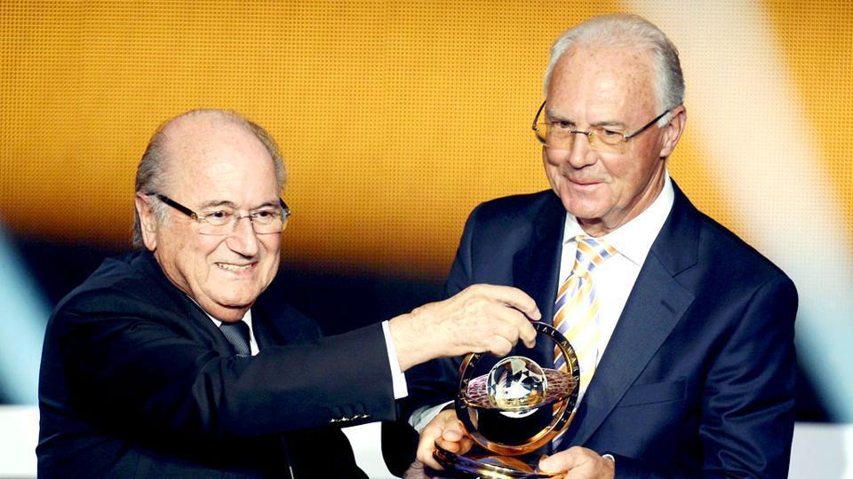 A file photo of Franz Beckenbauer.