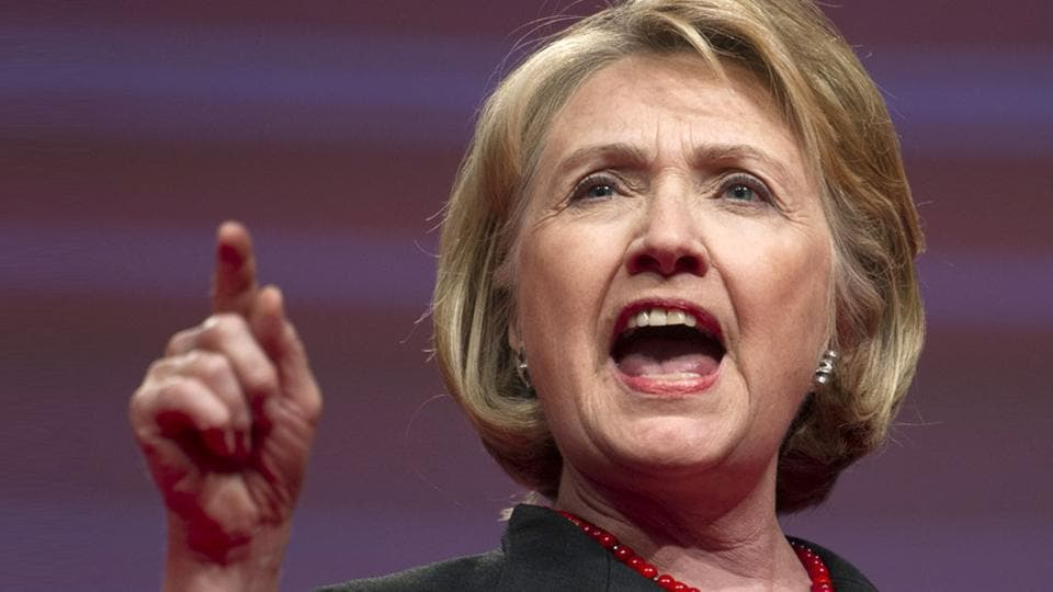 Hillary Clinton endorsed Joe Biden's White House bid on Tuesday(AP Photo)