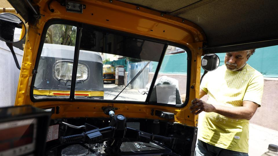 Autorickshaw drivers in Pune who have been forced to give up their daily income due to lockdown are facing severe financial crisis as they are sitting idle inside their houses. Movement of all vehicles except those engaged in supply of essential services and commodities have been banned by the state government to prevent the spread of Corona virus.