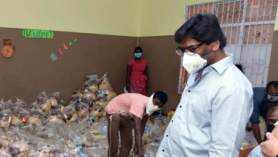 Moved by the plight of the old woman and the baby in Latehar districts Paharatoli village, Jharkhand Chief Minister Hemant Soren on Wednesday asked Deputy Commissioner Jishan Kamar to arrange food for them.