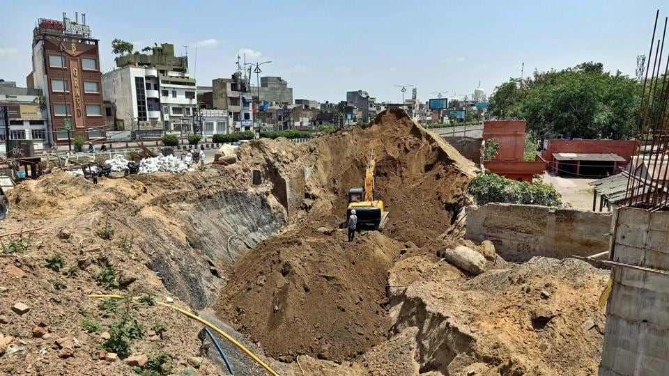 Mayor Balkar Sandhu said the project will be completed by June 20 if the contractor does not face any problem in procuring the raw material due to the curfew.