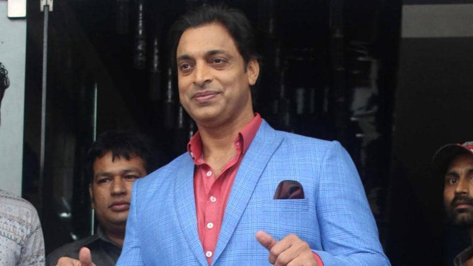 Shoaib Akhtar was spotted at an event.