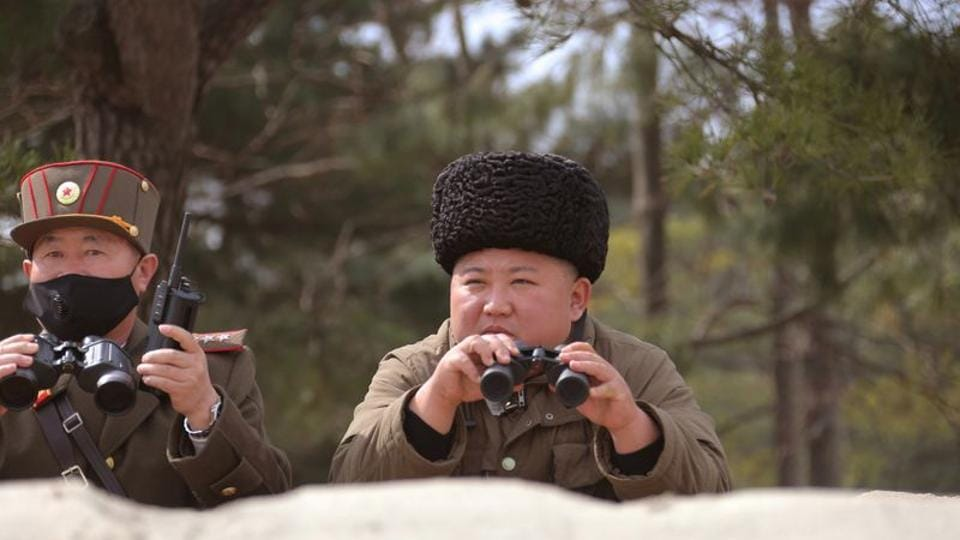 North Korean leader Kim Jong Un is seen in this undated picture released by North Korea's Korean Central News Agency (KCNA) on March 9, 2020.