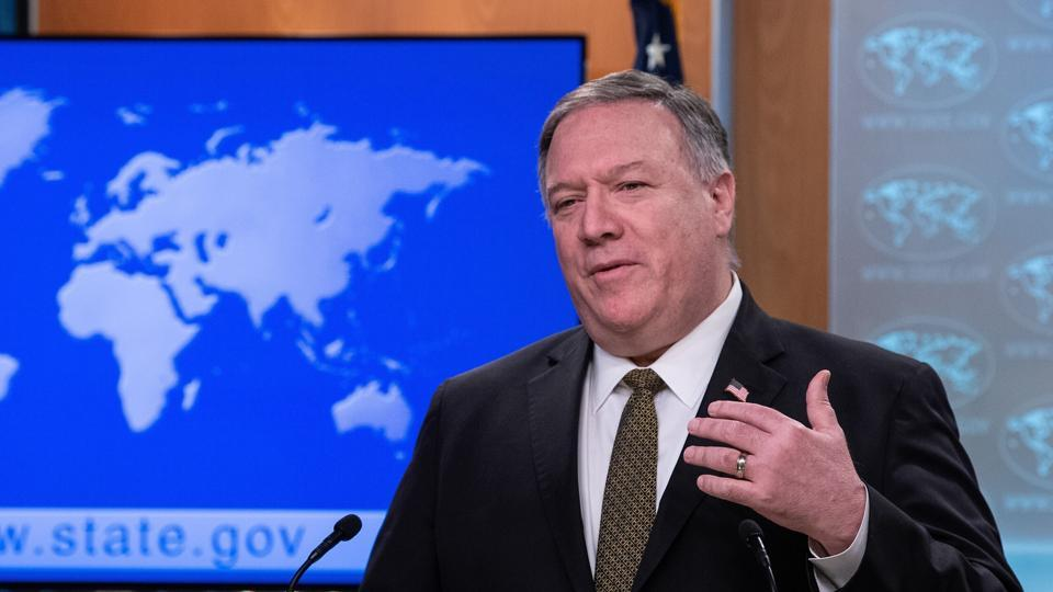 File photo of Secretary of State Mike Pompeo