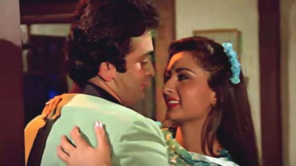 Rishi Kapoor and Poonam Dhillon worked together in a number of films in the 1980s.
