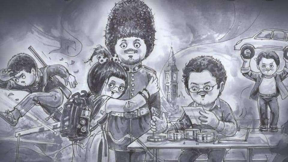 Amul shared a lovely artwork in memory of Irrfan Khan.