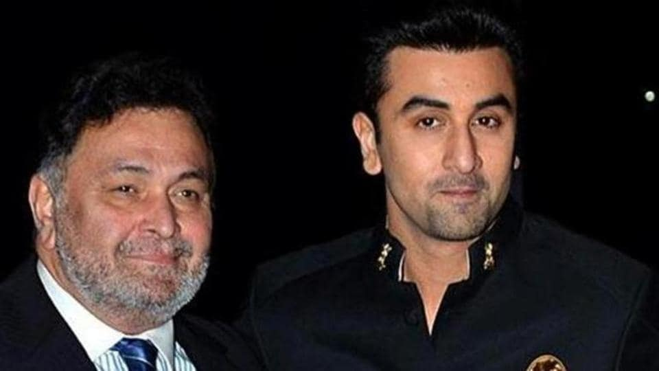 Rishi Kapoor and Ranbir Kapoor worked together in Besharam.