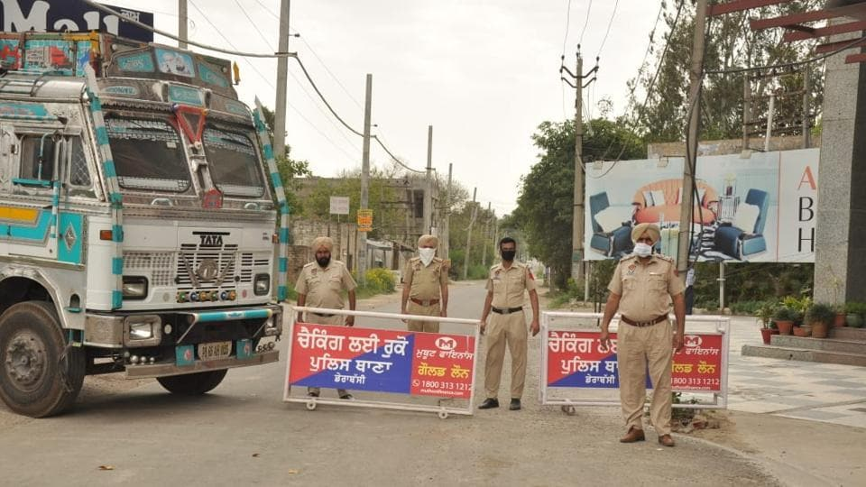 Jawaharpur village in Dera Bassi continues to remain sealed after being declared a containment zone in April.