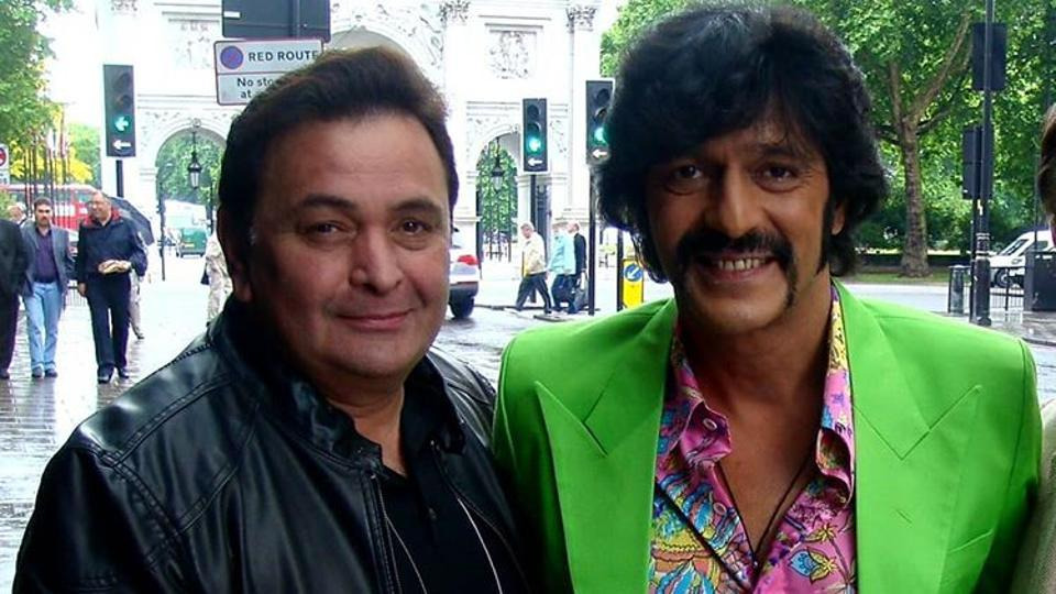 Actor Chunky Panday shared screen with Rishi Kapoor in Housefull 2 (2012)