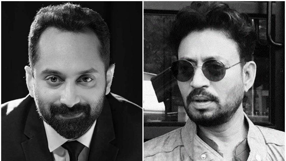 Fahadh Faasil remembers Irrfan Khan in a Facebook post.