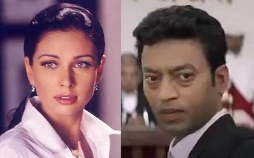 Lisa Ray and Irrfan in stills from Kasoor.