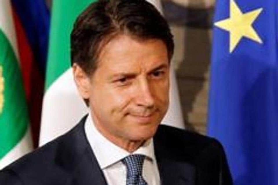 Newly appointed Italy Prime Minister Giuseppe Conte arrives to speak with media after the consultation with the Italian President Sergio Mattarella at the Quirinal Palace in Rome, Italy, May 23, 2018. REUTERS/Remo Casilli