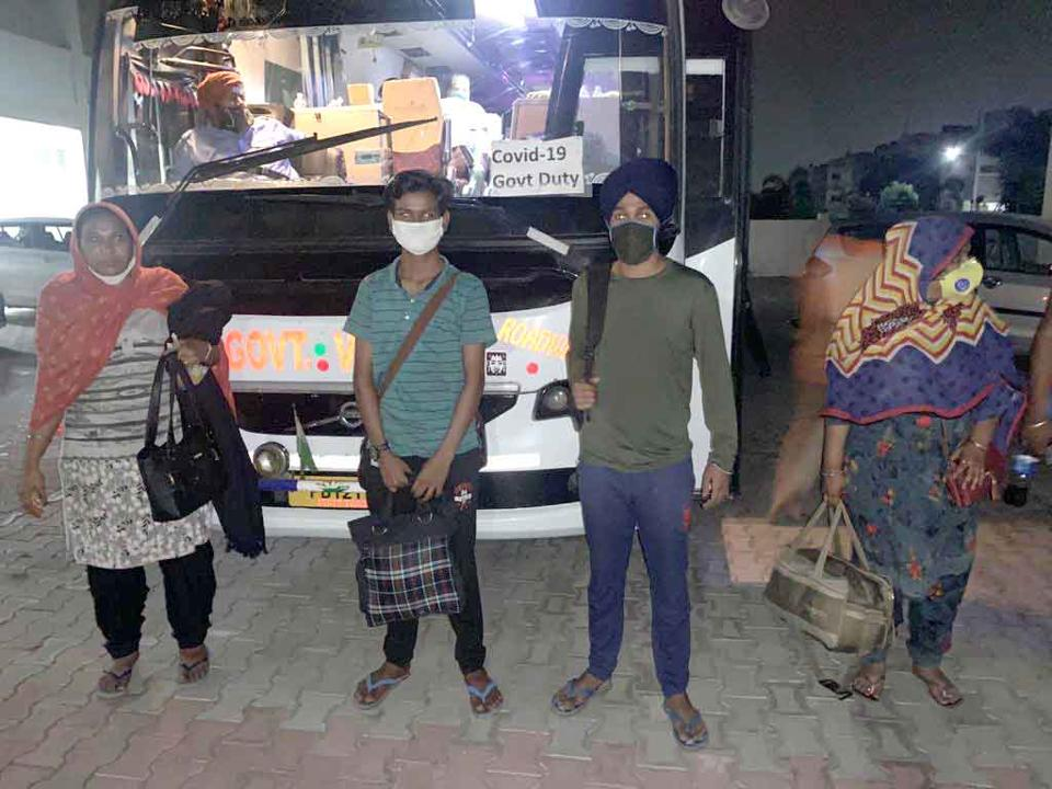 In the past two days, 57 Nanded pilgrims have arrived in Mohali via buses.