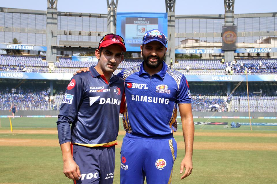 Rohit Sharma and Gautam Gambhir.