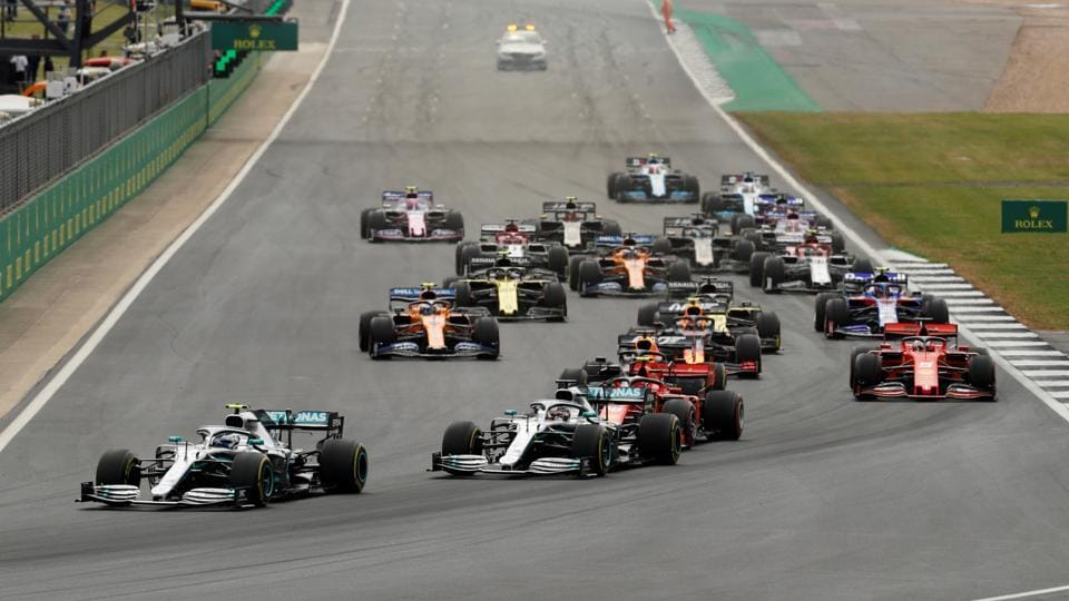 File image of F1.