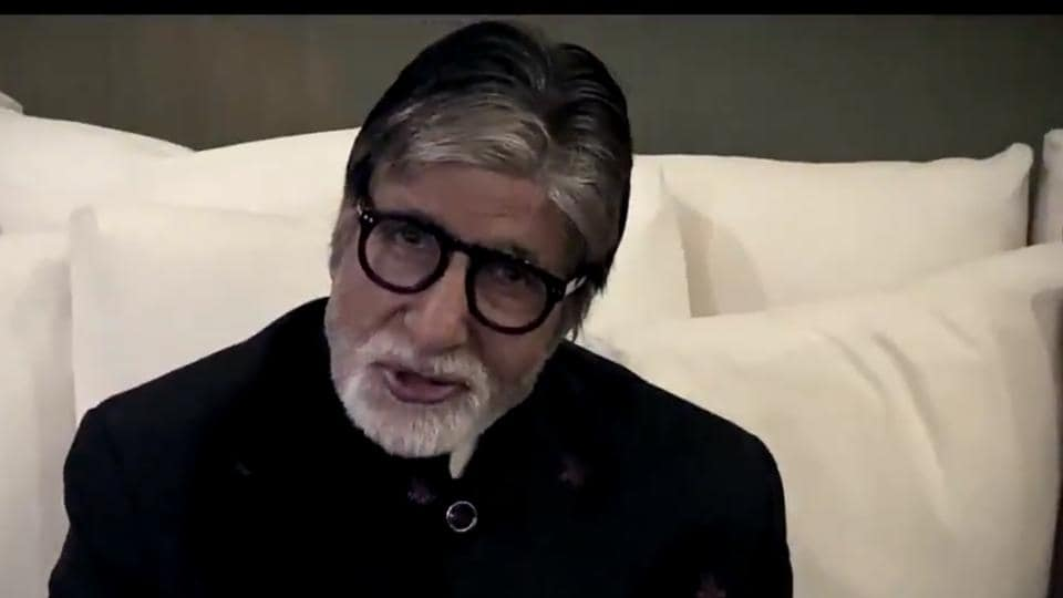Amitabh Bachchan in KBC 12 promo.