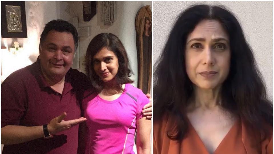 Rishi Kapoor and Meenakshi Seshadri worked in five films together.