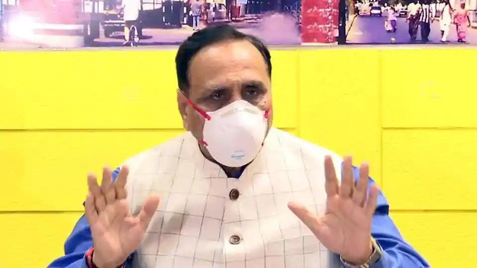 Gujarat chief minister Vijay Rupani said the lockdown has been a challenging time for all, and especially for migrant labourers.