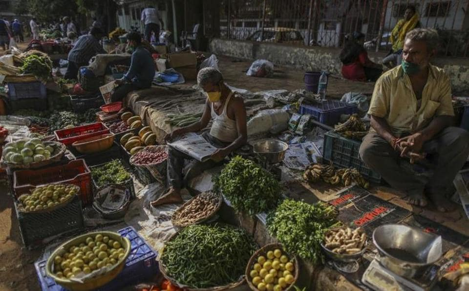 Two dozen Covid 19 cases inside the vegetable mandi in the past two days have thrown a scare among traders as well as buyers.