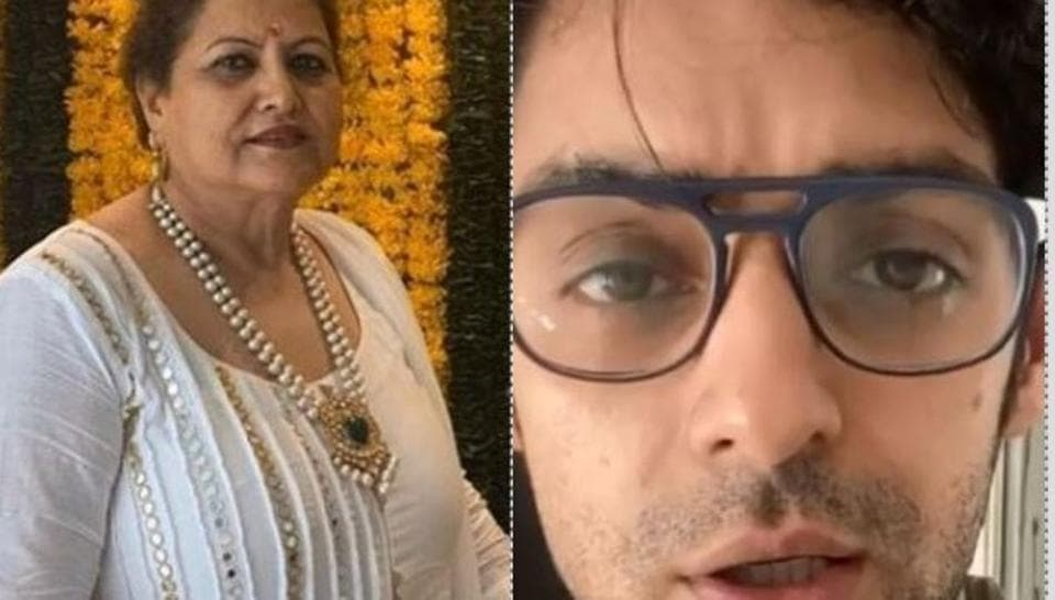 Karan Wahi lauds mother for losing 18 kgs in 4 months despite hypothyroidism, shares pic of body tr... thumbnail