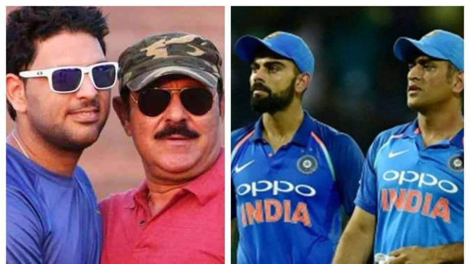 Many have backstabbed Yuvraj Singh including Kohli, Dhoni: Yograj Singh thumbnail