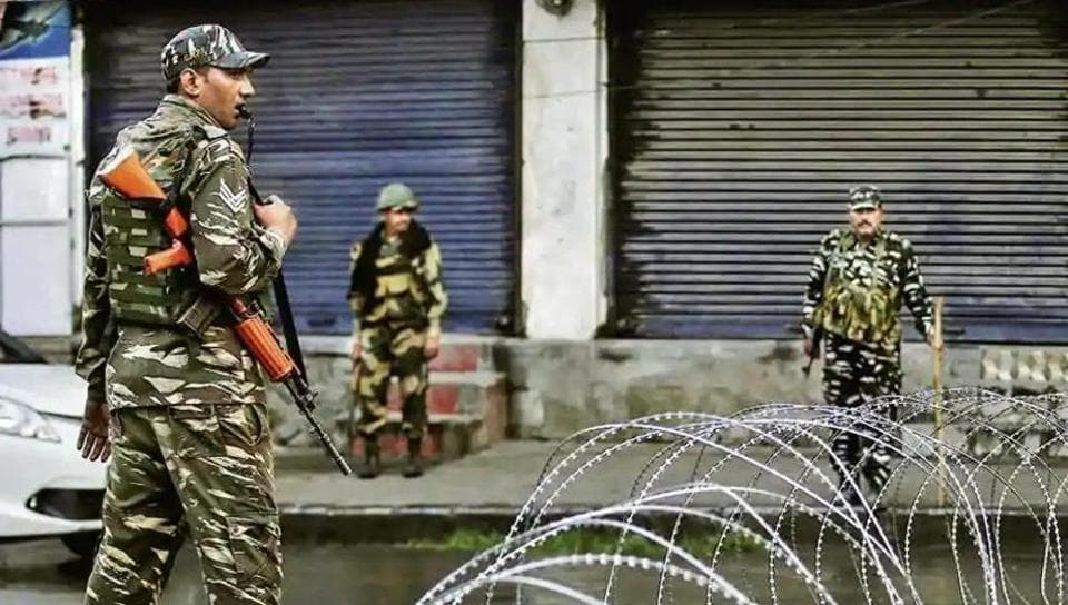One of the search operations is currently being conducted in Beighpora Gulzapora, the native village of Hizbul's operational chief Riyaz Naikoo, who is the senior most active commander in the valley.