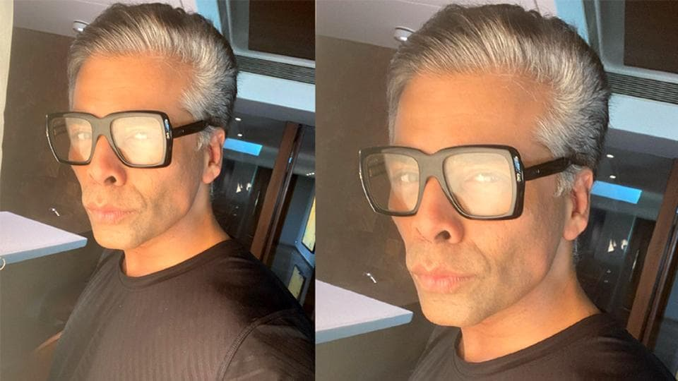Karan Johar shares a face profile to invite acting offers.