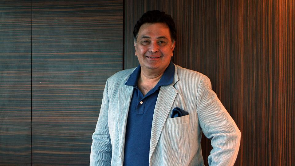 Actor Rishi Kapoor in Bandra, Mumbai on January 16, 2009.
