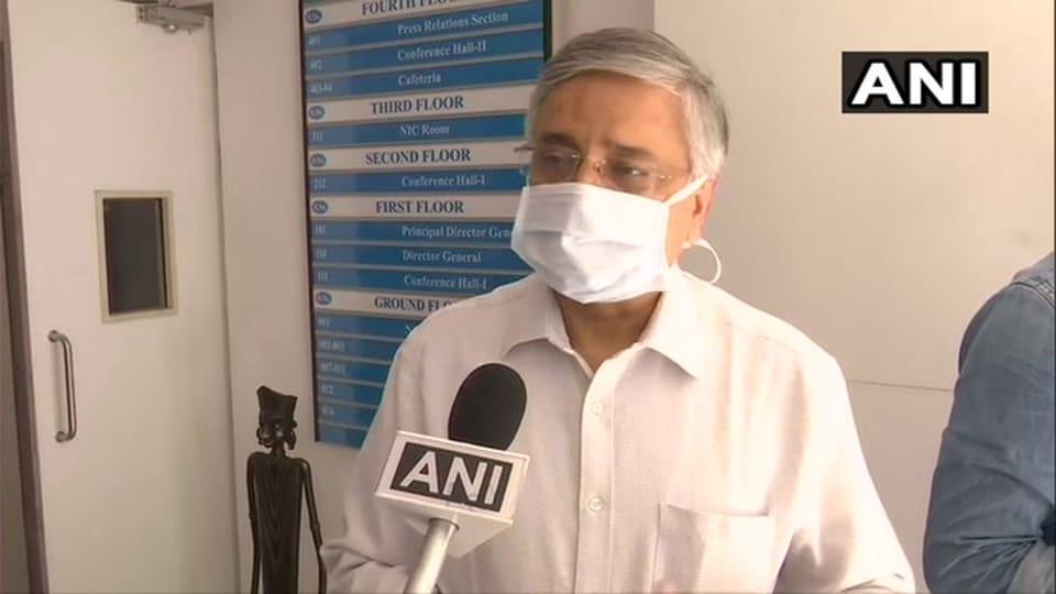 Director of All India Institute of Medical Sciences, Dr Randeep Guleria.