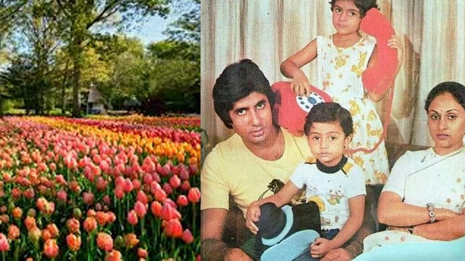 Amitabh Bachchan recalls the family trip to The Netherlands.