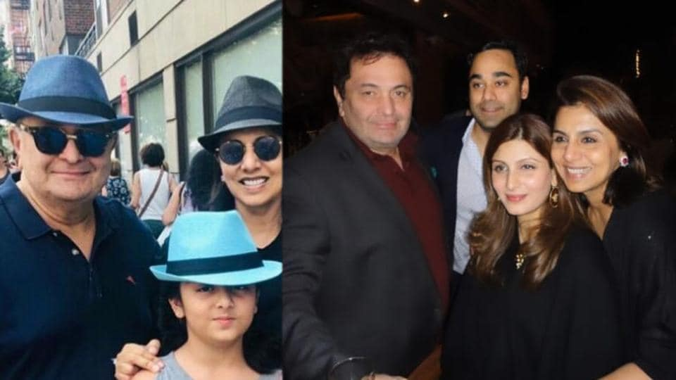 Riddhima Kapoor Sahni has shared a throwback photo with Rishi Kapoor.