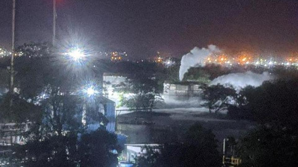 Earlier on Thursday, gas leak at a chemical plant in Visakhapatnam claimed 11 lives.
