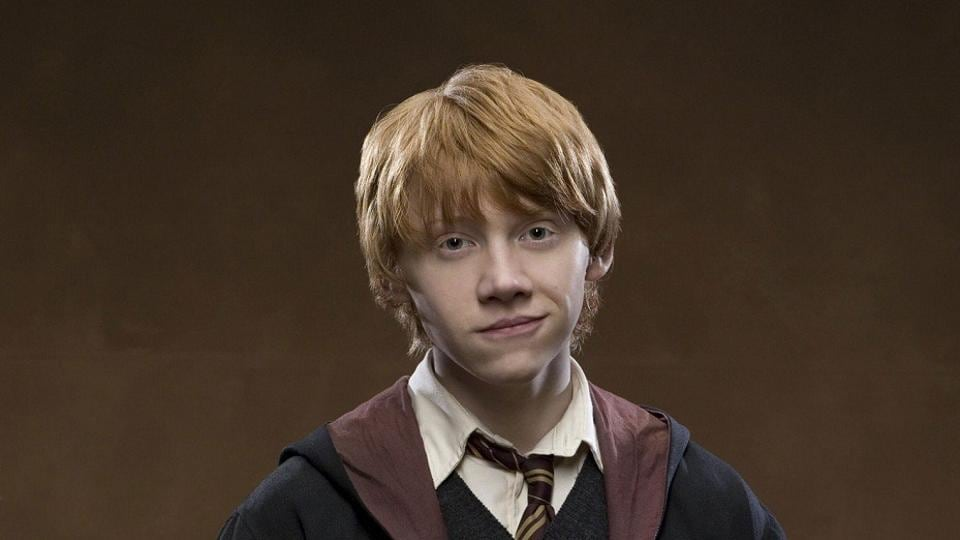 Rupert Grint played Ron Weasley in the Harry Potter films.