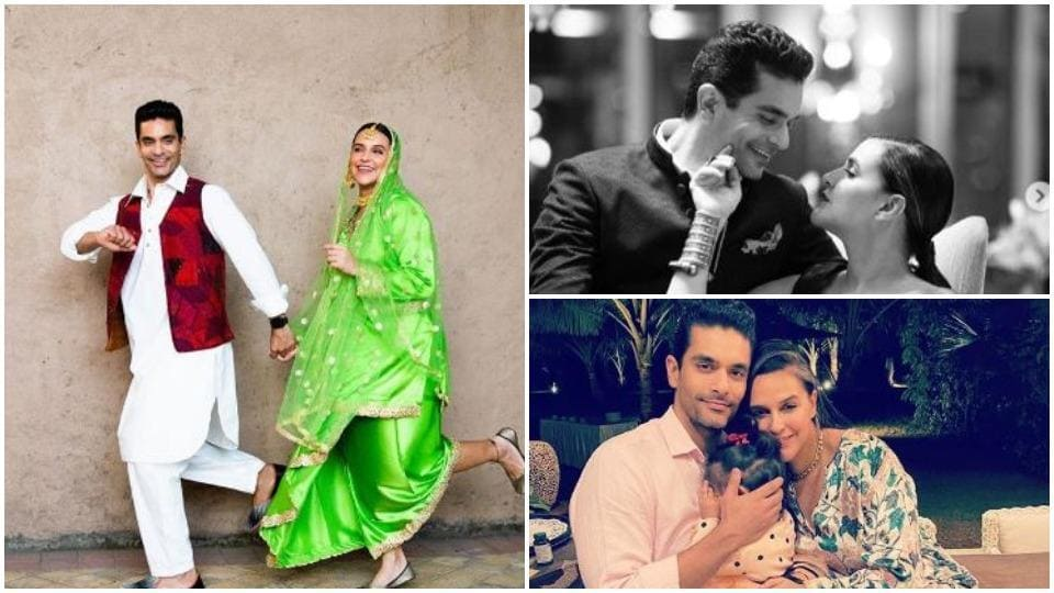 Neha Dhupia and Angad Bedi celebrate their second anniversary on May 10.