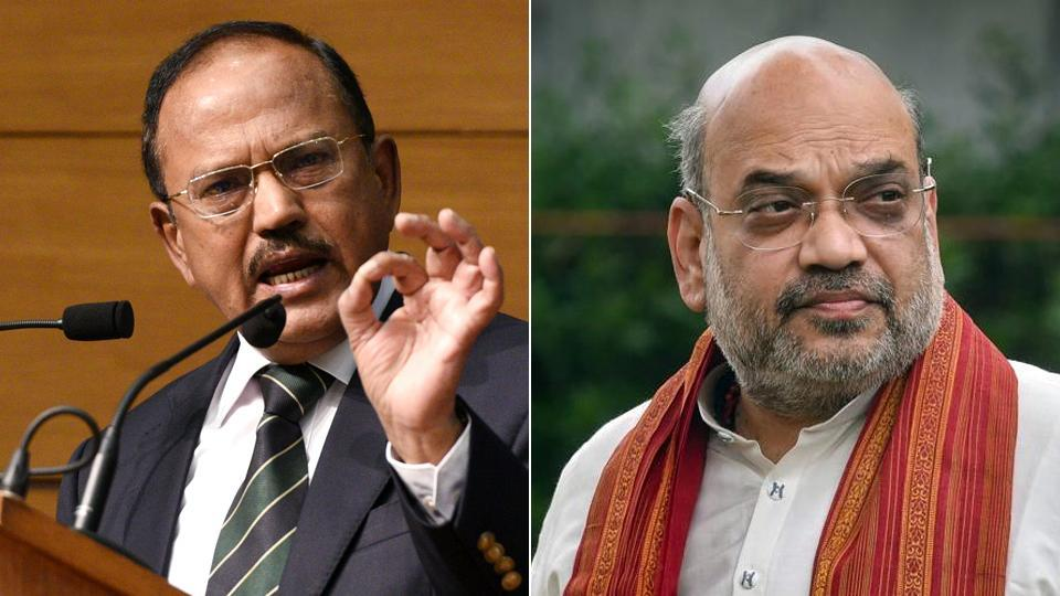 NSA Ajit Doval also led a select group of top officers to meet Union Home Minister Amit Shah who was briefed about the deliberations and their findings.