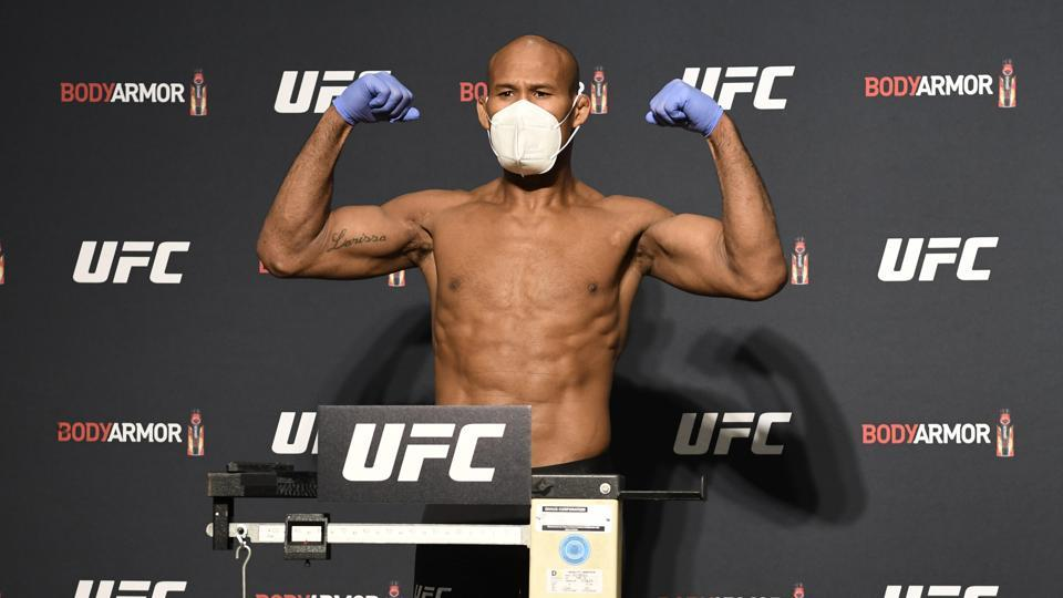 File image of Ronaldo Souza.