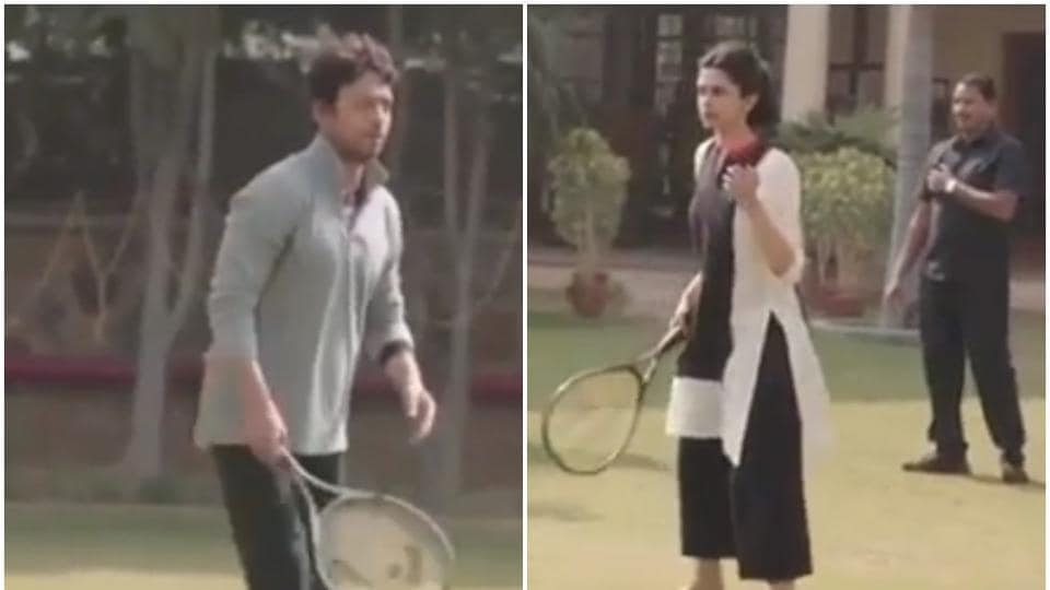 Deepika Padukone shared a video with late Irrfan Khan from Piku's shoot.