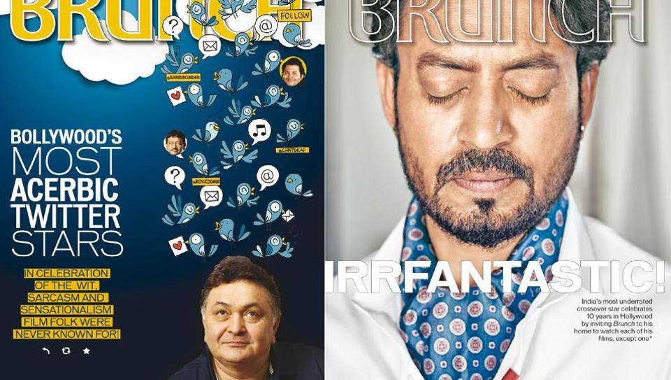 Rishi Kapoor's sharp wit made him a standout amongst Bollywood stars…and Irrfan Khan celebrated his 10 years in Hollywood with a 10-movie marathon for this HT Brunch cover story