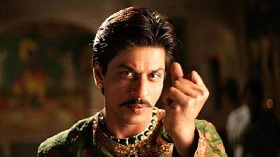 Shah Rukh Khan played a ghost in love in Paheli.
