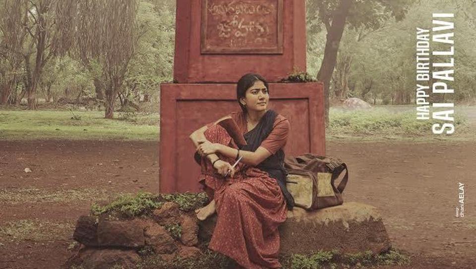 Sai Pallavi plays a Naxalite inVirataparvam.