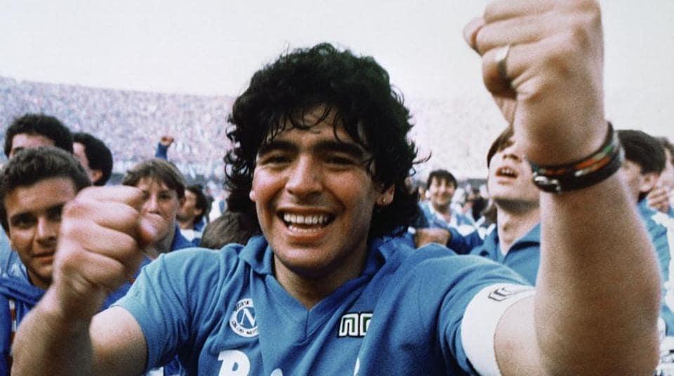 Maradona autographs shirt to help Buenos Aires poor ...