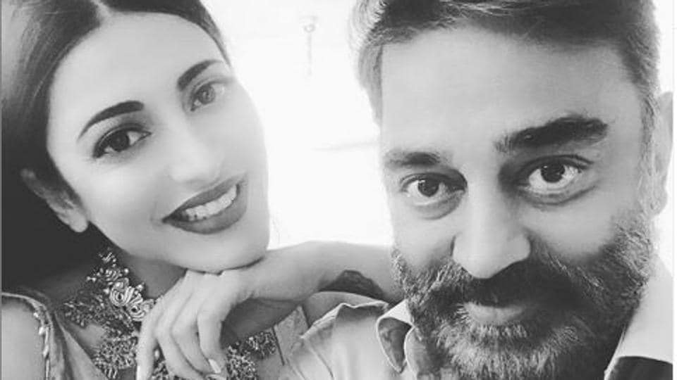 Shruti Hasaan says dad Kamal Haasan would simply let her know that he was disappointed in her.