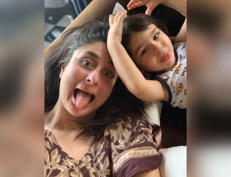 Mother's Day 2020 snapshot of Kareena Kapoor Khan with Taimur.