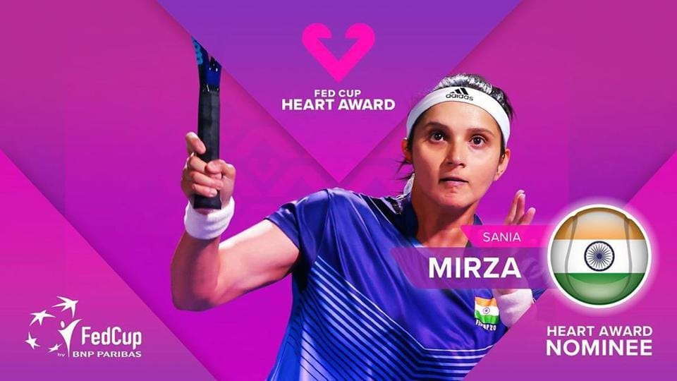 Sania Mirza was the first person from the subcontinent to be nominated for the award