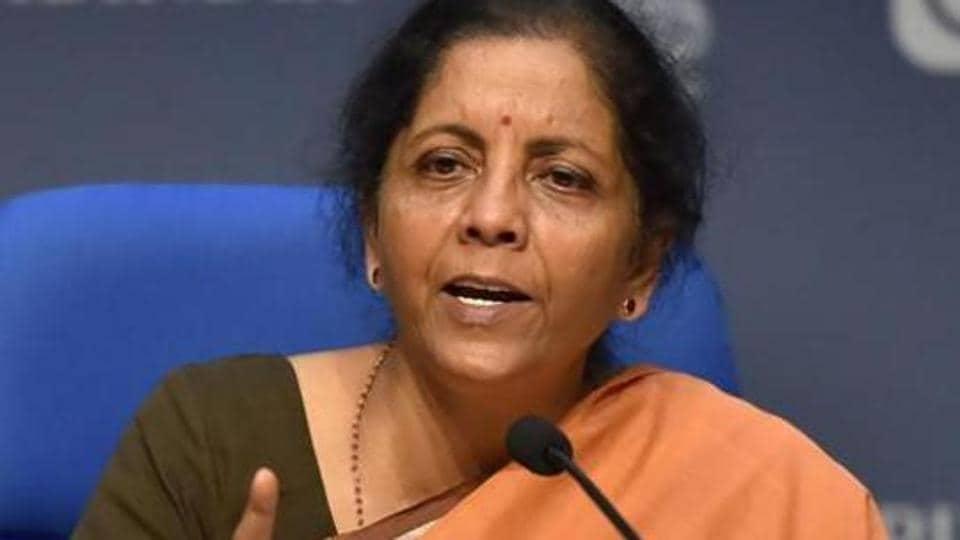 File photo: Union Finance Minister Nirmala Sitharaman.