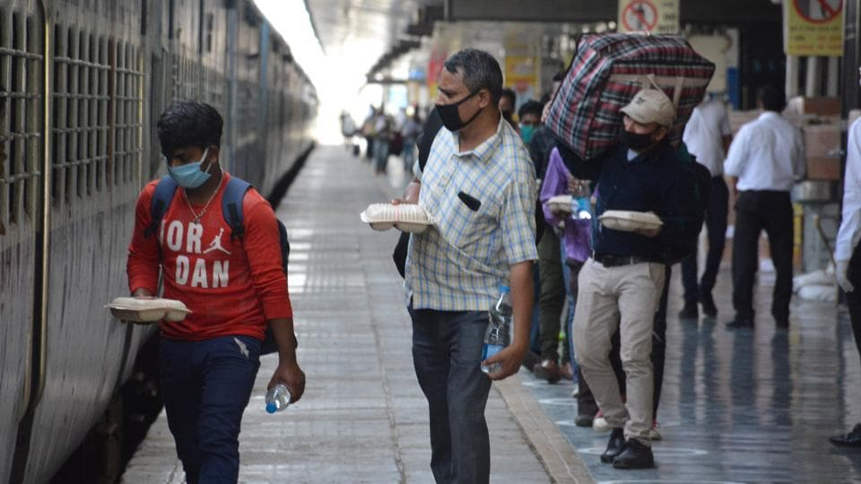 Passengers can book their tickets only through the online portals of IRCTC, the railways said, adding that the maximum advance reservation period of tickets cannot exceed seven days.  (Photo by Sant Arora/Hindustan Times)